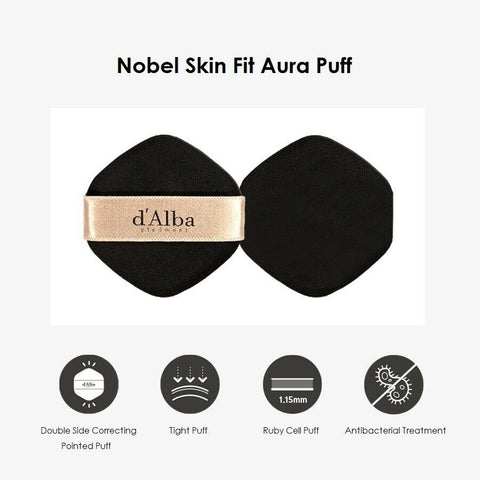 [d'Alba] Noble Grinding Essence Cover Pact 21g with White Truffle K-beauty - BEST BEAUTIP