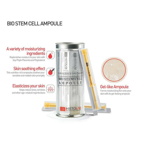 [Histolab] Bio Stem Cell Ampoule 1pack (1mlx10EA) anti-ageing essence K-beauty - BEST BEAUTIP