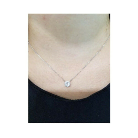 [STONE HENGE] SILVER 925 Round Twinkle Necklace K1209 with Case K-beauty - BEST BEAUTIP
