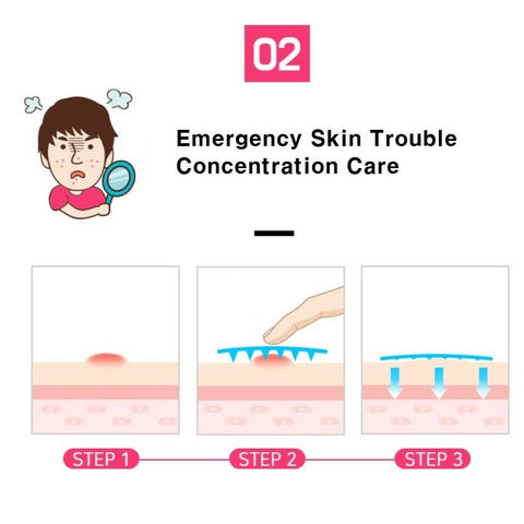 [Sidmool] ACBYE Trouble Micro Needle Patch 1+1 (total 12ea) / K-beauty - BEST BEAUTIP