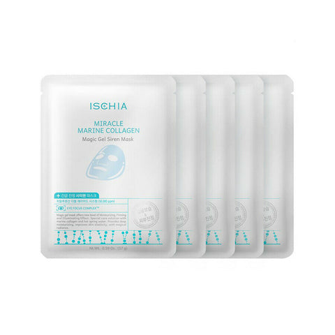 [ISCHIA] Miracle Marine Collagen Magic Gel Siren Mask 10ea K-beauty - BEST BEAUTIP