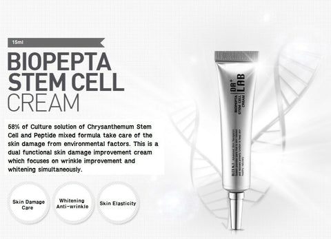 [DR+ LAB] Biopepta Stem Cell Cream 15ml / 0.5oz 58% Stem Cell & Peptide K-beauty - BEST BEAUTIP