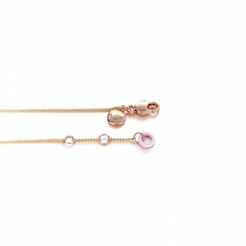 [RITA MONICA] XOXO Y Rose Gold Necklace RAB4-RRN02 with case K-beauty