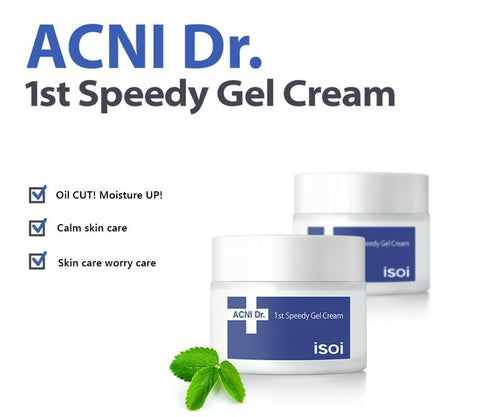 [isoi] Acni Dr. 1st Speedy Gel Cream 50ml / 1.69oz K-beauty - BEST BEAUTIP