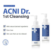 [isoi] Acni Dr. 1st Cleansing 130ml / 4.39oz K-beauty for acne skin - BEST BEAUTIP