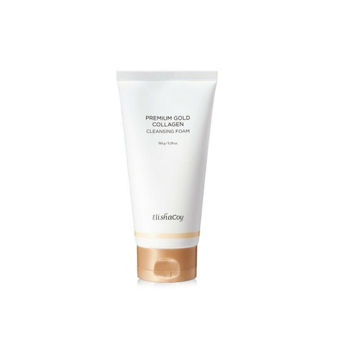 [Elishacoy] Premium Gold Collagen Cleansing Foam 150g / 5.29oz K-beauty - BEST BEAUTIP
