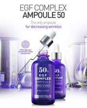 [Histolab] EGF Complex Ampoule 50% 80ml / 2.7 fl.oz for decreasing wrinkles K-beauty - BEST BEAUTIP