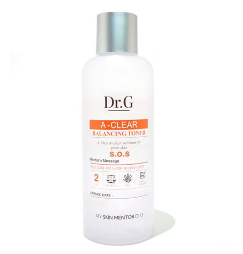 [Dr.G] A-Clear Balancing Toner 170ml / 5.74oz Alcohol Free K-beauty - BEST BEAUTIP