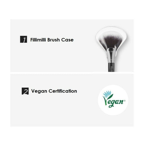 [Fillimilli] S Fan Shaped Highlighter Brush 853 K-beauty olive young - BEST BEAUTIP