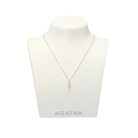 [AGATHA] 14K GOLD Necklace 2681914S_313 With Case K-beauty - BEST BEAUTIP