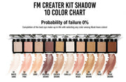 [FM Makeup] Creative Kit Eye Shadow 10color 2g  K-beauty - BEST BEAUTIP