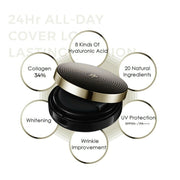 [NEOGEN] 24hr All-Day Cover Long Lasting Cushion with refill K-beauty - BEST BEAUTIP