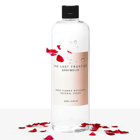 twinkidea - [Graymelin] Rose Flower Water 85% & Natural Toner 500ml / 16.9 fl.oz K-beauty - Graymelin - Toners