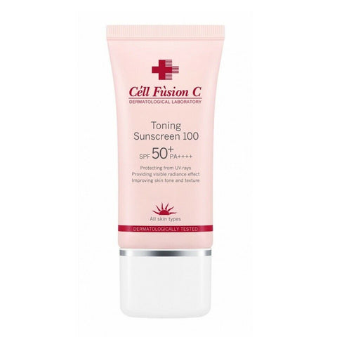 [Cell Fusion C] Toning Sunscreen 100 SPF50+ PA++++ 35ml / 1.18oz K-beauty - BEST BEAUTIP