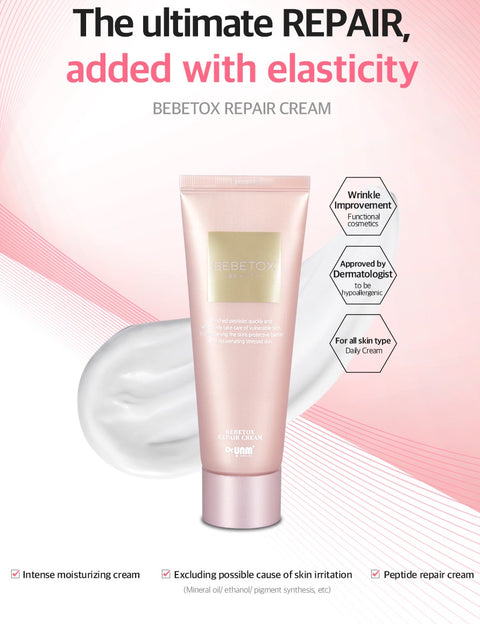 [Dr.UNM] Bebetox Repair Cream 70ml - BEST BEAUTIP
