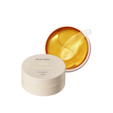 [DEWYTREE] Prime Gold Snail Eye Patch 60ea K-beauty - BEST BEAUTIP