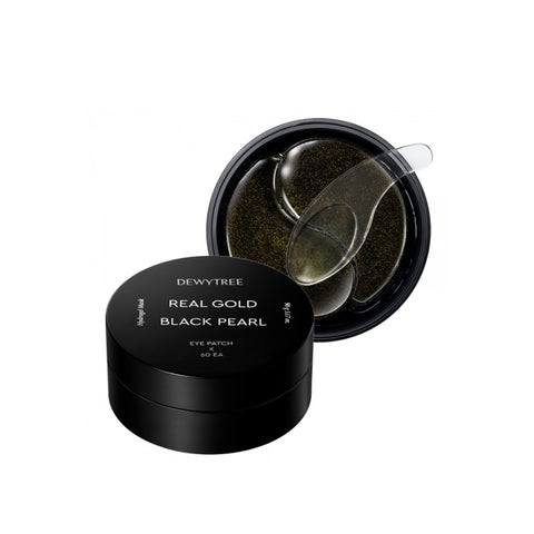 [DEWYTREE] Real Gold Black Pearl Eye Patch 60ea K-beauty - BEST BEAUTIP