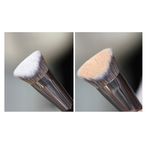 [Fillimilli] V Cut Foundation Brush 822 1EA Olive Young K-beauty YouTube Hit Item - BEST BEAUTIP