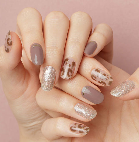 [GELATO FACTORY] HATTO HATTO FIT Basic Nail Chic Leopard 1set - BEST BEAUTIP