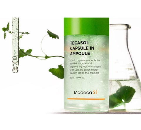 [Madeca21] TECASOL Capsule In Ampoule 50ml / 1.69 fl.oz K-beauty - BEST BEAUTIP