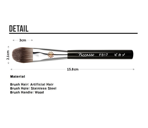 [PICCASSO Bursh] FB17 Foundation Brush 1EA Make up Brush - BEST BEAUTIP
