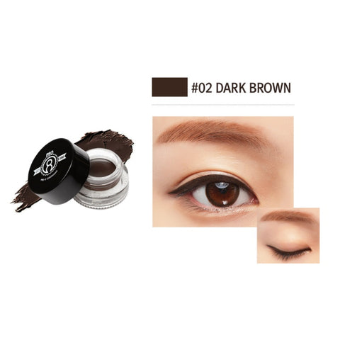 [PRO 8 CHEONGDAM] Stay on Gel Eyeliner Black, Brown K-beauty pro eight - BEST BEAUTIP