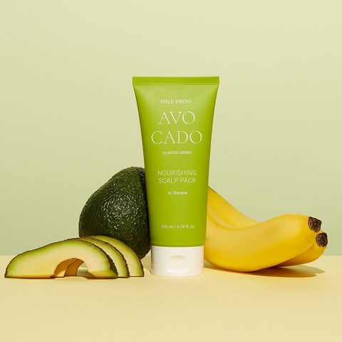 [RATED GREEN] Cold Press Avocado Nourishing Scalp Pack 200ml / 6.76 Fl.Oz. - BEST BEAUTIP