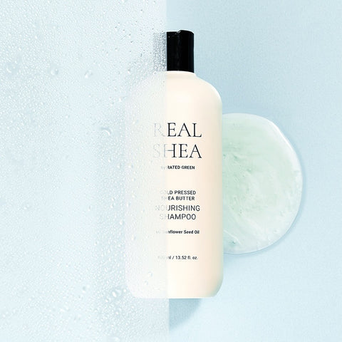 [RATED GREEN] Real Shea Cold Pressed Shea Butter Nourishing Shampoo 400ml / 13.52 Fl. Oz. - BEST BEAUTIP