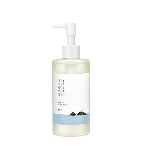 [ROUND LAB] 1025 DOKDO Cleansing Oil 200ml / 6.76oz K-beauty - BEST BEAUTIP