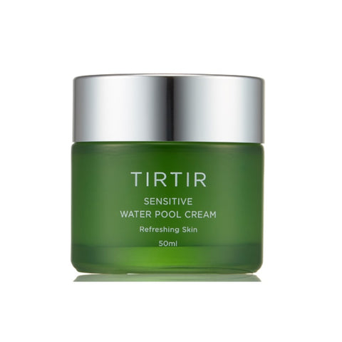 [TIRTIR] Sensitive Water Pool Cream 50ml / 1.69oz with Centella Asiatica Leaf Water - BEST BEAUTIP