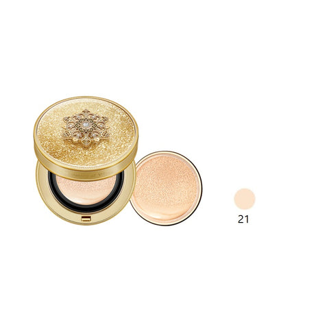 [The History of Whoo] CHEONYULDAN Signature Cushion Foundation Pact 15g with refill K-beauty - BEST BEAUTIP