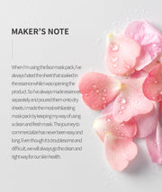 [URANG] Love Rose X Hibiscus Mask 5ea K-beauty