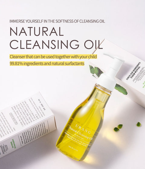 [URANG] 99% Natural Cleansing Oil 150ml / 5 fl.oz K-beauty - BEST BEAUTIP
