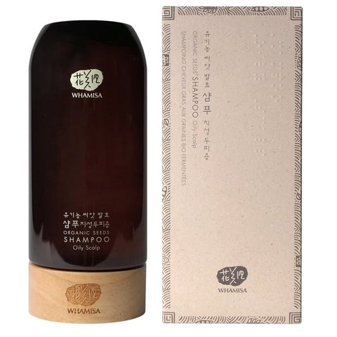 [WHAMISA] Organic Seed Shampoo (Oily Scalp) 510ml /17.24oz K-beauty - BEST BEAUTIP