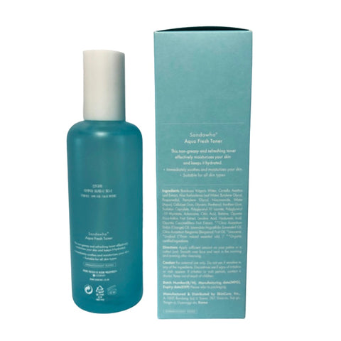 [SanDaWha] Aqua Fresh Toner 150ml(5.07 fl.oz) K-beauty Refreshing Toner - BEST BEAUTIP