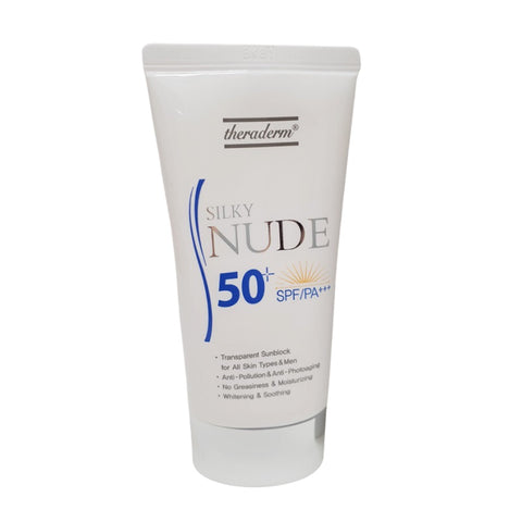 [theraderm] Silky Nude Sunblock SPF 50+ PA+++ 50ml K-beauty Moist sunscreen - BEST BEAUTIP