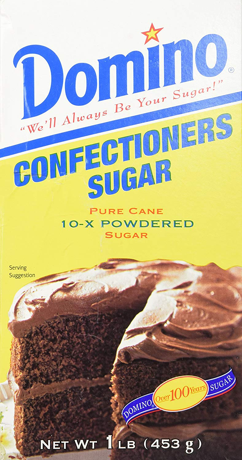 DOMINO CONFECTIONERS SUGAR 1LB