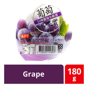 FRUITS JELLY IN CUPGRAPE 66104