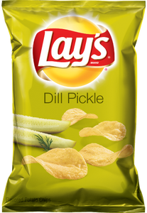 LAYS FLAMIN DILL PICKLES