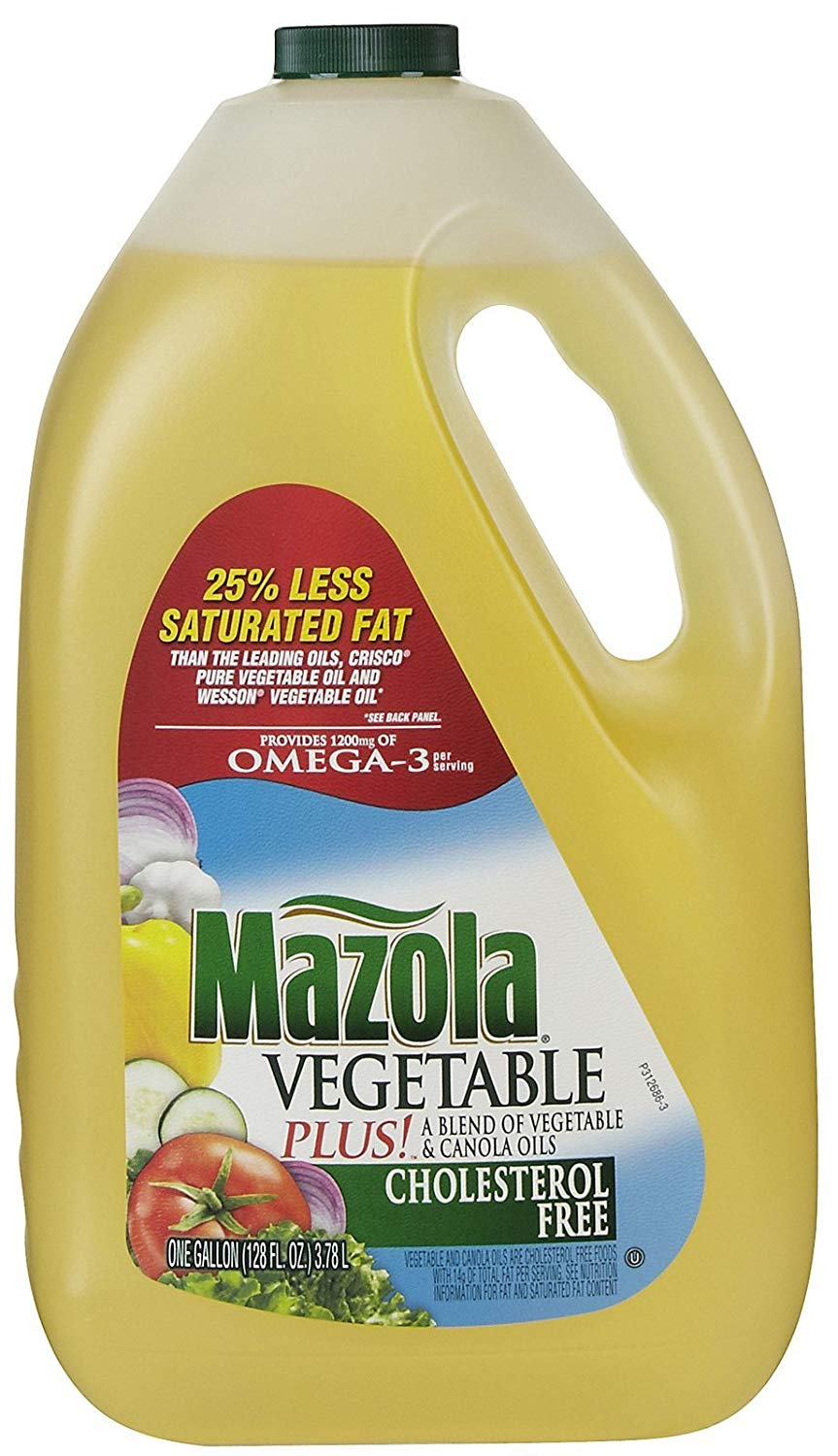 MAZOLA VEGETABLE OIL 1 GAL