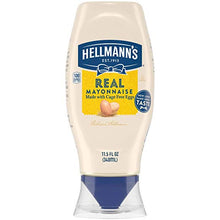 Load image into Gallery viewer, HELL MANNS REAL MAYONNAISE SQUEEZE 11.6OZ