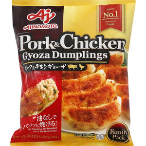 Ajinomoto Gyoza Pork & Chicken味素鍋貼豬雞肉