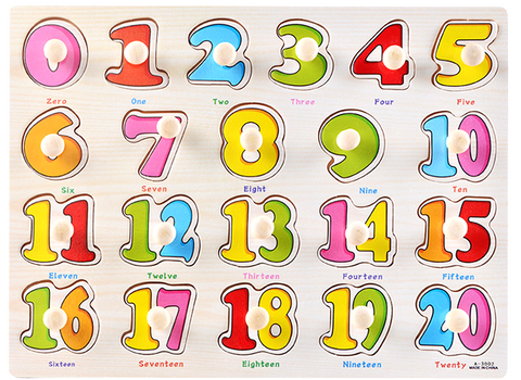 Little Learner Number Puzzle