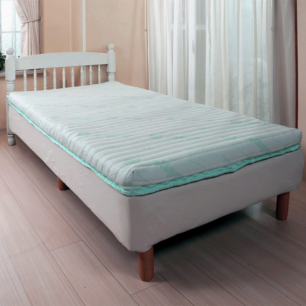cellpur-7-zones-body-wave-mattress-on-the-bed