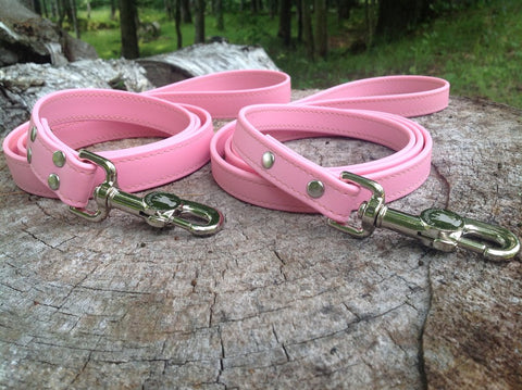 Luxury Waterproof Leash - Pink