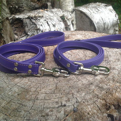 Luxury Waterproof Leash - Purple