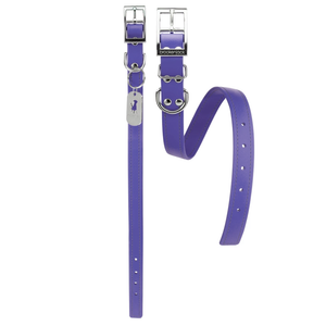 Luxury Biothane Waterproof Dog Collar - Purple