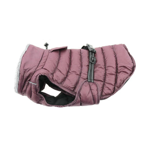 Alpine Extreme Weather Puffer Coat - Burgundy