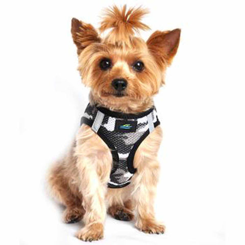 American RiverChoke Free Dog Harness Camouflage Collection - Gray Camo