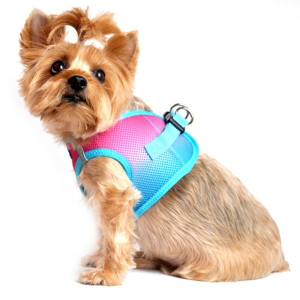 American River Choke Free Dog Harness - Sugar Plum